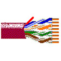 Belden 7987R Paired Videotwist Nanoskew Cable - Maroon - 1000 Foot