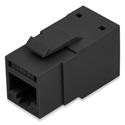 Belden RVAMJKUBK-B24 REVConnect 10GX T568 A/B UTP RJ45 Modular Jack Connector - Black - 24-Pack