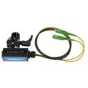 Camplex BLACKJACK-OP10 opticalCON DUO APC to Duplex (2) SC/APC Breakout Adapter - Singlemode with Clamp