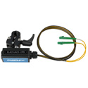 Camplex BLACKJACK-OP9 opticalCON DUO APC to Duplex (2) LC/APC Breakout Adapter - Singlemode with Clamp