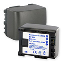 Canon BP-809/819/827  7.4V 800mAh LION Replacement Battery