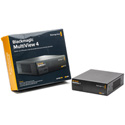 Blackmagic MultiView 4 Video Multiviewer for 4 Channels of SDI - Bstock (Manufacturer Refurbished)