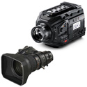 Blackmagic Design BMD-USRABroadcast-XA20sX8.5-Kit URSA Broadcast Camera and MS-01 Semi Servo Rear Control Accessory Kit
