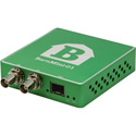 Barnfind BARNMINI-01 BNC to Optical Converter with Open SFP Port