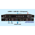 Blonder Tongue HDE-2H/2S-QAM 4-Channel MPEG-2 Encoder/QAM Modulator with HD-SDI