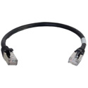 Cables To Go 00821 Cat6 Snagless Shielded (STP) Ethernet Network Patch Cable - Black - 20 Feet