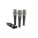 CAD Audio D38X3 3 Pack of D38 Supercardioid Dynamic Instrument Microphone