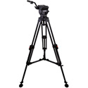 Cartoni KF12-1UM Focus 12 - 1 Stage Aluminum 3 Tube Ultra Light Tripod ML Spreader Pan Bar & Soft Case