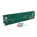 Cobalt Digitalÿ9910DA-4Q-3G-RCK 3G/HD/SD Quad-Channel Multi-Rate Distribution Amplifier with x4 Output Crosspoint