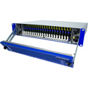Cobalt HPF-9000-NSPS 20-slot openGear High Power Frame 2 RU with 2 PS-9000 Power Supply&HPF-FC Network Controller w/SNMP