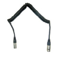 Frezzolini CC-44 Coiled 4-Pin XLR-M to 4-Pin XLR-F Power Cable 2-6 Ft.