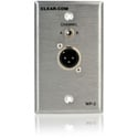 Clear-Com WP-2 Two-Channel Selectable Intercom Outlet Wall Plate