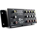 CE Labs AV400 1x4 Composite Video & Stereo Audio RCA Distribution Amp