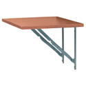 Chief ECR-CH/SHELF Side Shelf for Elite Converta Racks - Cherry Finish