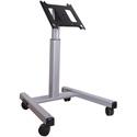 Chief MFMUB Flat Panel Confidence Monitor Cart 30-55In. Displays Black