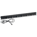 Chief NAPDV1815PC Removable IEC Cord - 15A with 18 Receptacles