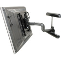 Chief PWRUB Large Flat Panel Swing Arm Wall Mount - 25 Inch Extension