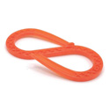 Checkers QUICKHOOK-O Linebacker Quick Hook Cable Management S-Hook - 50 Pack