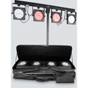 Chauvet DJ 4BARUSB 4 Bar USB Wash Lighting Solution - Designed for Mobile Entertainers