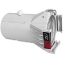 Chauvet OHDLENS26WHT Ovation Ellipsoidal HD Lens Tube - 26 Degrees - White