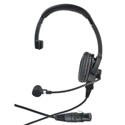 Clear-Com CC-110-X4 Premium Lightweight Single On Ear Headset - Field Removable Four-pin Female XLR