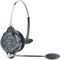 Clear-Com CZ-WH410 Two Channel All-in-One Headset with 2 BAT50 Li-Ion Batteries - Use with DX410 Base Station Only