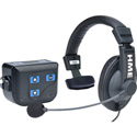 Clear-Com CZ11434 BP200 Beltpack w/ CC-15 Headset and Li-Ion Battery
