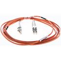 Cleerline DOM2LCLC01M LC/UPC-LC/UPC-1.6mm Riser-OM2-1m Fiber Cable