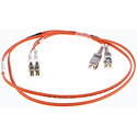 Cleerline DOM2LCSC05M LC/UPC-SC/UPC-1.6mm Riser-OM2-5m Fiber Cable