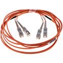 Cleerline DOM2SCSC03M SC/UPC-SC/UPC-1.6mm Riser-OM2-3m Fiber Cable