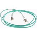 Cleerline DOM3LCLC01M LC/UPC-LC/UPC-1.6mm Riser-OM3-1m Fiber Cable