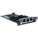 tvONE CM-HDBT-2IN-1ETH HDBaseT CORIOmaster Input Module