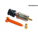 Liberty Connectec CM-RGB26-RCA RCA 26 AWG Nickel