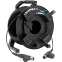 Camplex CMX-TROCMTPM085 opticalCON MTP/MTP OM3 Multimode 12 Fiber Field Cable W/GT310 Reel w/ Ears - 85 Meters