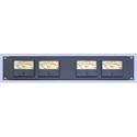 Coleman Audio MBP4 Quad Rack Audio VU Meter System for Balanced XLR Audio