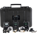 Comica CVM-WM300A Dual-Transmitter Lavalier Mic Kit - with 2 Transmitters/1 Receiver/Hard Case & Accessories (Li-Ion)
