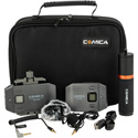 Comica CVM-WS50B Wireless Lavalier Microphone Kit for Smartphones (Li-Ion)