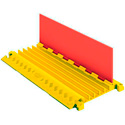 Linebacker CP5X125-GP 5 Ch Cable Protector 3ft Long Orange Lid/Yellow Ramps