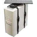 Penn-Elcom CPU-92B Universal Sliding and Swiveling Computer Holder - Black