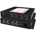 Artel FiberLink 3514-B7S SM & MM 4-Channel 3G-HD w/4K/UHD-60 Support Fiber Box with ST Connectors - Transmitter