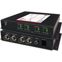 Artel FiberLink 3515-B7S SM & MM 4-Channel 3G-HD w/4K/UHD-60 Support Fiber Box with ST Connectors - Receiver