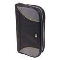 Case Logic CSW-72BK 72-CD Nylon Sport Media Wallet -Black