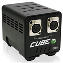 Core CUBE-200 AC to DC 200W Industrial Power Supply All Aluminum 2 x 4-Pin XLR Male Outputs - Fanless/Silent