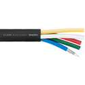 Clark RG6HD5 5 Channel Rg6 18Awg Hd/Sdi Video Snake 1000Ft