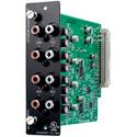 TOA D-971R Line Output Module - Stereo RCA Connectors