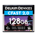 Delkin DCFSTV128 Cfast 2.0 Memory Card - VPG-130 Tested & Approved - 128GB