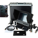 Delvcam 7 Inch Camera-Top Monitor w/ Video Waveform and Anton Bauer Battery Plat