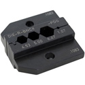 Neutrik DIE-R-BNCX-PDG Crimp Tool Die for HX-R-BNC with Hex Crimp Size: A (4.53mm) B (5.00mm) C (6.47mm) CP (1.07mm)
