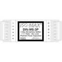 Jensen DIN-MS-3P 3 Way Mic Splitter w/Phantom Support Circuitry