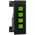 DNF Controls EB4X-DBB Mounting Bracket for the EB-44 - Designed to Allow Horizontal or Vertical Installation
